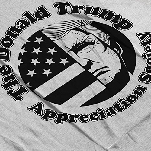 The Donald Trump Appreciation Society Women's Vest Heather Grey