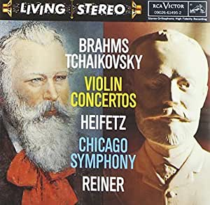Brahms / Tchaikovsky, Violin Concertos: Heifetz, Chicago Symphony, Reiner by RCA (2004-09-22)