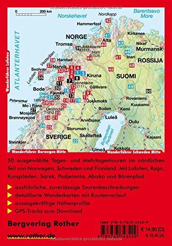 Lappland: Schweden, Finnland und Norwegen mit Lofoten. 50 Touren. Mit GPS-Tracks (Rother Wanderführer): Alle Infos bei Amazon