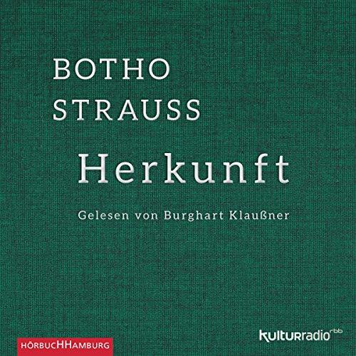 Buchseite und Rezensionen zu 'Herkunft' von Botho Strauß