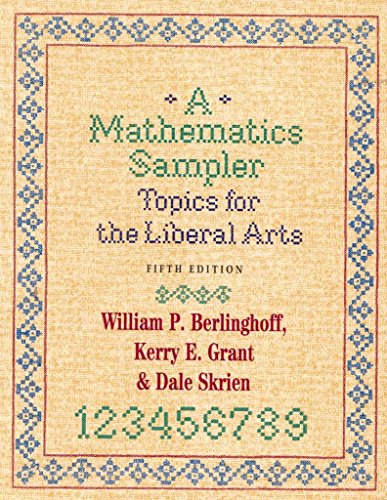 Best Sellers Free eBook [(A Mathematics Sampler : Topics for the Liberal Arts)] [By (author) William P. Berlinghoff ] published on (January, 2001)