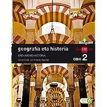 Geografia eta historia. DBH 2. Bizigarri - 9788498554564