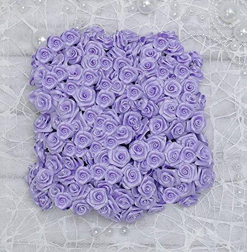 12 Bund = 144 St. Diorröschen Satinröschen Rosen flieder lila