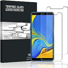 Samsung Galaxy A7 2018 Panzerglas, AVIDET 9H Härte Super Langlebig, Anti-Öl,Panzerglasfolie Displayschutzfolie für Samsung Galaxy A7 2018 (2 Stück)