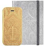 BigBen Christian La Croix Paseo Folio Schutzhülle für Apple iPhone 6/Notebook (A6) Gold