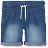 NAME IT Baby-Jungen Shorts NMMRYAN DNMBEN 3051 Long, Blau Dark Blue Denim, 92