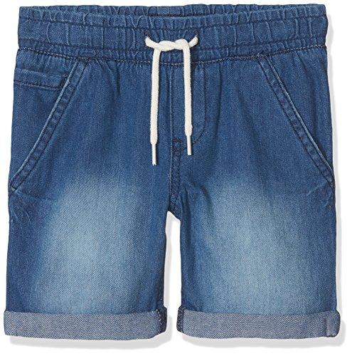 NAME IT Baby-Jungen Shorts NMMRYAN DNMBEN 3051 Long, Blau Dark Blue Denim, 98