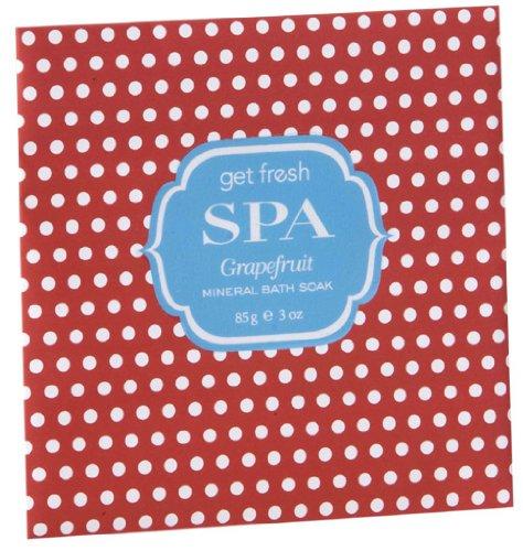 Mineral Soak (Get Fresh - SPA Mineral Bath Soak - Grapefruit)