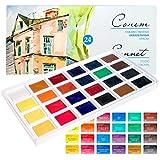 Profi Aquarellfarben Set / Zur Auswahl: 16 oder 24 Farben / Qualität von Sonnet (24)