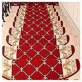 LVAB Stufenmatten - Treppenmatten Teppich Treppen Verdicken Selbstklebend Treppe Treter Pads Matten Rutschfest A (Farbe : B, größe : 75 * 24cm)