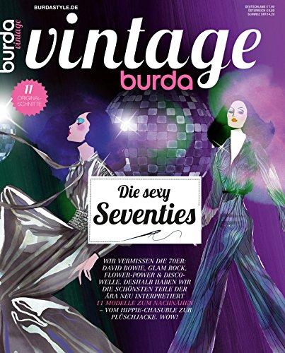 Burda vintage 2016 Nähmagazin Nähheft (Vintage-mode-magazin)