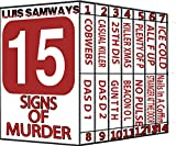 15 Signs Of Murder (Fifteen thrillers) (English Edition)