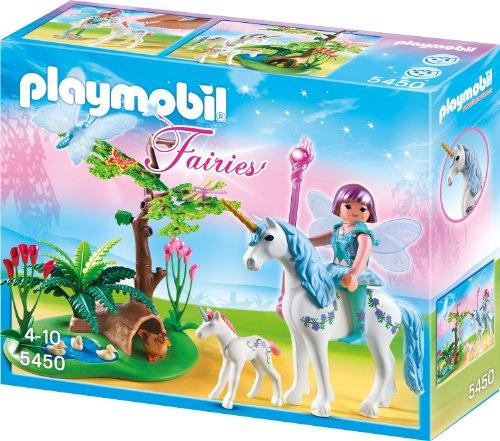 Playmobil - Fee Aquarella auf der Einhorn-Lichtung