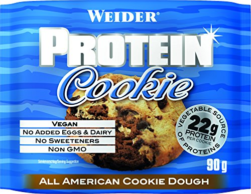 Weider Protein Cookie, All American Dough, 12 x 90 g (Bar Super-cookie)