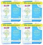 16x 52 Stück HiPP Babysanft Feuchttücher - Ultra Sensitiv -