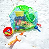Foldable Extra Large Sand Away Beach Bag, SunRun Sand Away Bag Laundry Toys Carry Storage HandBag for Travel Swim Boating