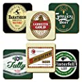 Game of Thrones Beer Label Coaster Set (6)