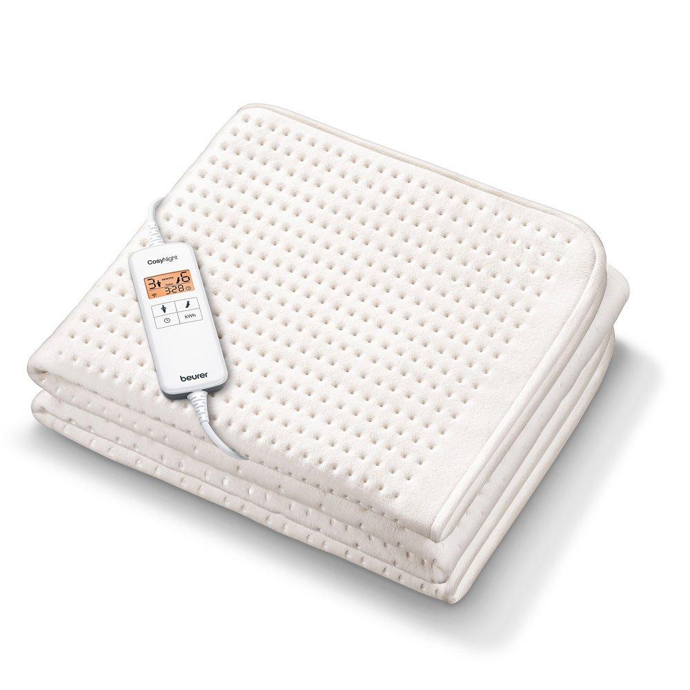 Beurer UB 200 CosyNight Spann-Wärmeunterbett mit App und Alexa Sprachsteuerung
