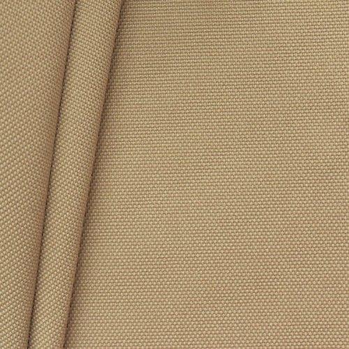 STOFFKONTOR Oxford Polyester Gewebe 600D Stoff Meterware Beige