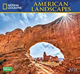 #10: National Geographic American Landscapes 2018 Wall Calendar