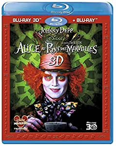 Alice au Pays des Merveilles [Combo Blu-ray 3D + Blu-ray 2D]