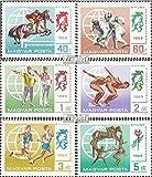 Ungarn 2537A-2542A (kompl.Ausg.) 1969 Moderner Fünfkampf (Briefmarken für Sammler)