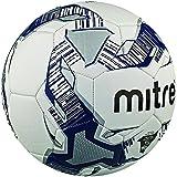 Mitre, Pallone da calcio, da allenamento Primero, Bianco (Weiß/Navy/Silber), 3