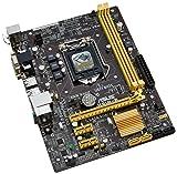 Asus H81M-E Haswell Mainboard Sockel 1150 (Micro-ATX, Intel H81, 16x PCIe, DDR3 Speicher, SATA III)