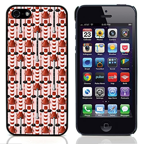 Graphic4You ORANGE CANVAS Muster Harte Hülle Case Tasche Schutzhülle für Apple iPhone 5 und 5S Design #5