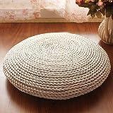 DwJ Sitzauflagen Handgefertigte Stroh sitzkissen Pad Tatami - futon Yoga Matte Stuhl Pads, 4 Arten (größe : Child Model (30cm in Diameter))