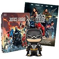 Justice League 2 Steelbook Esclusiva AMAZON (Blu-Ray) + Poster + Funko Batman
