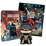 Justice League 2 Steelbook Esclusiva AMAZON (Blu-Ray) + Poster + Funko Batman