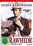 Rawhide - Tausend Meilen Staub, Staffel 3, Teil 2 [4 DVDs]