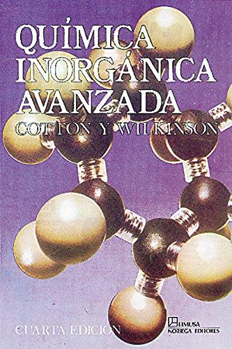 Quimica inorganica avanzada por Y. Wilkinson Cotton