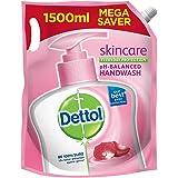 Dettol Liquid Handwash Refill - Skincare Moisturizing Hand Wash, 1500 ml (Price offer) | Antibacterial Formula | 10x Better G