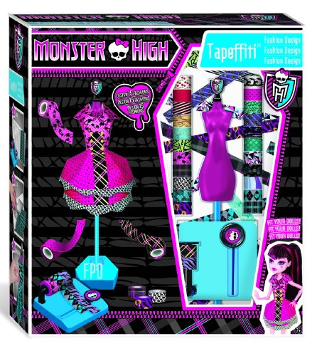 Image of IMC Toys 871168MH - Monster High Tapeffiti – Fashion Design