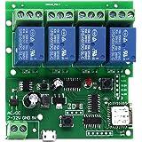 Sonoff Smart Afstandsbediening Wireless Switch Universele Module 4ch DC 5V 12V 32V WiFi Schakelaar Timer Telefoon APP Afstand