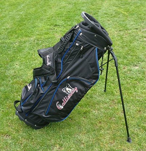 """Callieway® Agilitybag """"Smart One"""" – Tragebag mit Standfunktion, vielen Taschen und Regenschutzcover"""