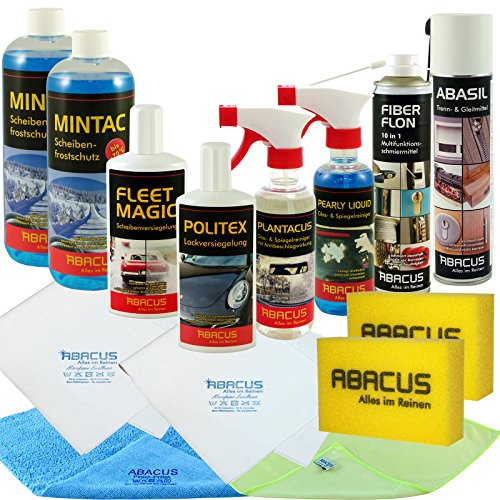 Auto-Winter-Set-professionale-7204--1-X-400-ML-abasil-1-X-400-ML-Fiber-flon-1-X-250-ML-Fleet-Magic-2-X-1000-ML-mintac-1-X-300-ML-Pearly-Liquid-1-X-300-ML-plantacus-1-X-250-ML-Politex-ecc--Abacus