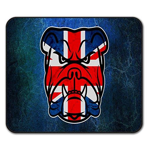 Flagge Vereinigtes Königreich Mouse Mat Pad, Hündchen Rutschfeste Unterlage - Glatte Oberfläche, verbessertes Tracking, Gummibasis von Wellcoda ()