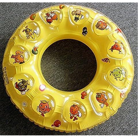 Edealing Piscina del anillo de la nadada 1PCS Bebés y Niños inflable del asiento del flotador del barco Natación 4-7 Años de