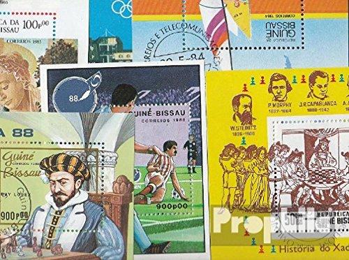 Guinea-Bissau 10 verschiedene Blöcke (Briefmarken für Sammler) (Guinea Block)