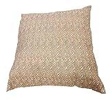 habeig Sitzkissen WASSERDICHT Kissen OUTDOOR Wetterfest 45x45 cm Zierkissen Gartenstuhl Auflagen (Orange #531)