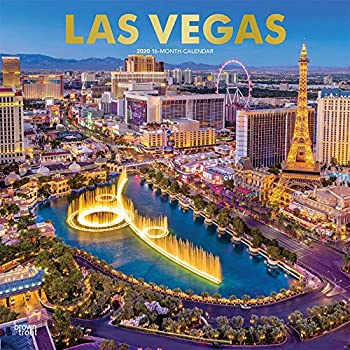 Las Vegas 2020 Calendar: Foil Stamped Cover
