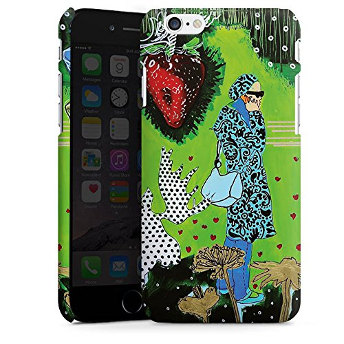 Apple iPhone X Silikon Hülle Case Schutzhülle Frau Muster Flasche Premium Case matt