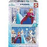 Frozen - Puzzle, 2 x 48 (Educa Borrás 16852)