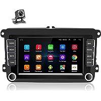 Podofo Android Autoradio GPS pour VW Passat Golf Skoda Touran 7'' Écran Tactile Audio de Voiture Bluetooth WiFi FM Lien…