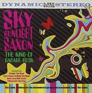 king of garage sky saxon musique. Black Bedroom Furniture Sets. Home Design Ideas