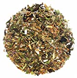 The Indian Chai - Memory Zest/Herbal Tea for Memory, Focus, Clarity with Super Brain Herbs and No Caffeine, 50gm (TICMZT50)