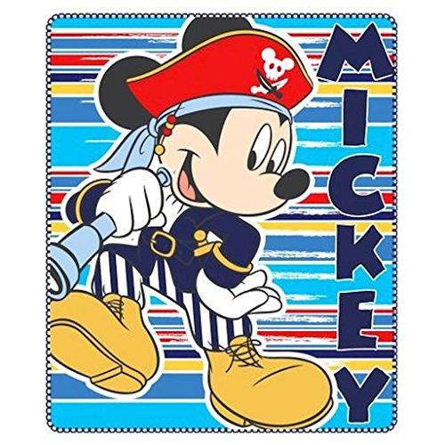 Disney Mickey Mouse suave forro polar de los niños alfombra de juegos tamaño: 120x 140cm